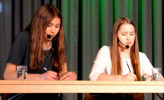 BvSG erfolgreich beim Wettbewerb 'Jugend debattiert'