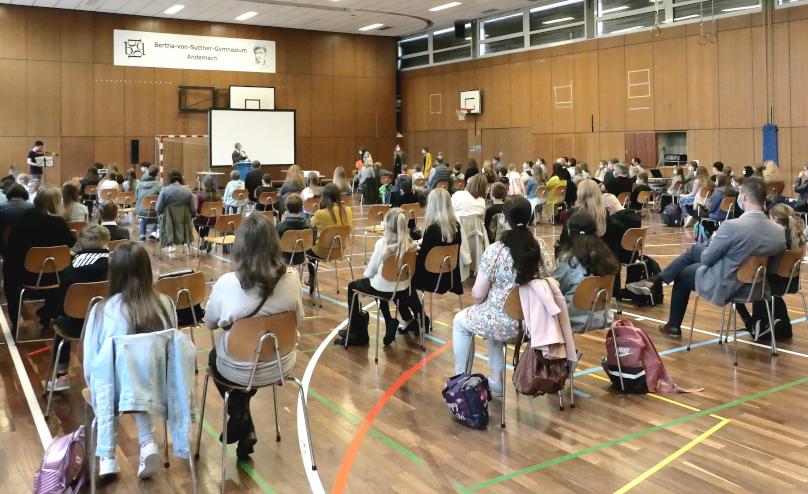 Erster Schultag 2021/22 am BvSG